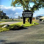 View from Highway - New Page Paper Mill in Background