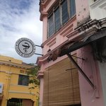 The Daily Dose; a fine coffee shop in George Town Penang. They serve Bangles with salmon and cre