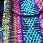 Color detail, vendor purse