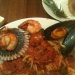 Fettucine Marinara - FRESH SEAFOOD!!!!