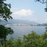 Lake Maggiore from Isola Bella