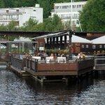 The summer terrace of Lappeenrannan Kasino