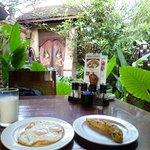 breakfast with very beautiful environment