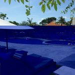 Pool view from boardwalk
