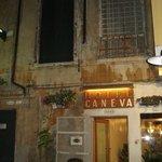 Caneva on arrival