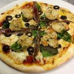 Pizza mediterránea