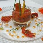 Pressé de tomate fraiche
