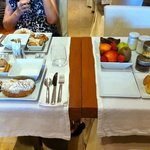 El desayuno para dos ofrecido: rico pero reiterativo
