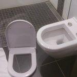 Toilettes cassées