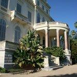 Villa Rothschild - le perron