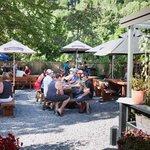 Summer in the garden bar