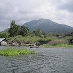 Lake Batur.