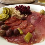 Large charcuterie - beware the forrestry NOT ADVERTISED