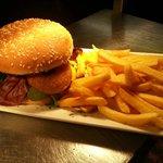 Our famous CJ's Burger