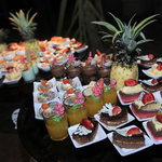 Our delicious desserts served during our Satay night buffet