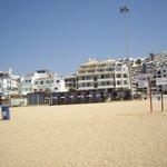 Apartamentos desde la playa