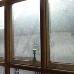 Bridal Suite filthy windows