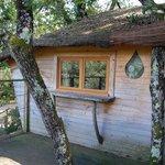 de la terrasse de la cabane