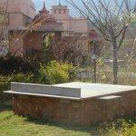 Sun bench
