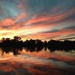 Sunset at Rose Ridge Resort