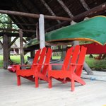 Adirondack Chairs at the Boathouse