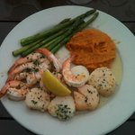 Pick two seafood platter at Morgan Creen Grill