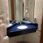 Compact but good bathroom