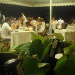 """""""Le Masiere"""" tavoli all'aperto"""