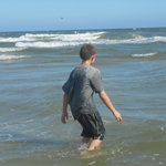 had a great time first time ever a the beach