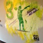 graffiti on wall by Nash