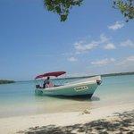 Vista de la playa Tortuga bay
