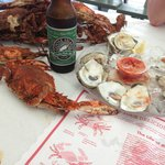Crabs, oysters, and beer. Oh my!