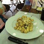 Gnocchis à la truffe (trop salés)