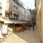 een van de leuke straatjes