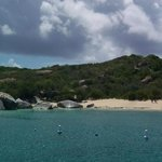 Virgin Gorda, from the Island Time deck