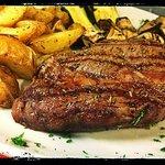 Bife argentino da 300 grammi con papas