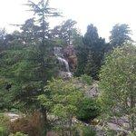 jolie cascade dans le parc
