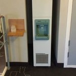 ice machine in corridor