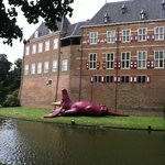 castle Huis Bergh with dragon