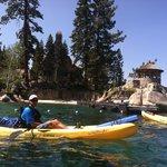 Kayak Trip to Thunderbird Lodge