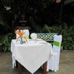 Private birthday dinner