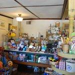 Lojas especializadas e de suvenir