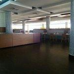 vista  interior  restaurante