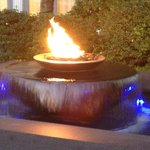 Fountain with Fire