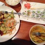 Fantastic Deal! Chicken Teriyaki/sushi combo $7.65