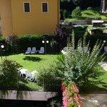 Il giardino sul lato