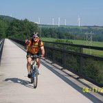 Over the Salisbury Viaduct on the Great Allegheny Passage