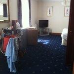 Family room main bedroom
