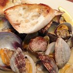 Delicious clams at Madrona Bar and Grill