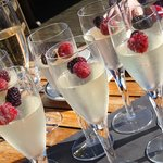 Champagne Jelly as part of Afternoon Tea